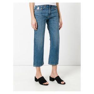 Rag & Bone/Jean Cropped Denim Jeans